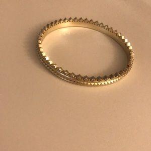 Kendra Scott Gold Mary Caroline bangle bracelet